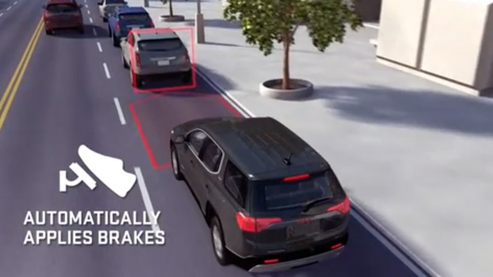 GMC Yukon full-size SUV Safety Features Automatic Braking.