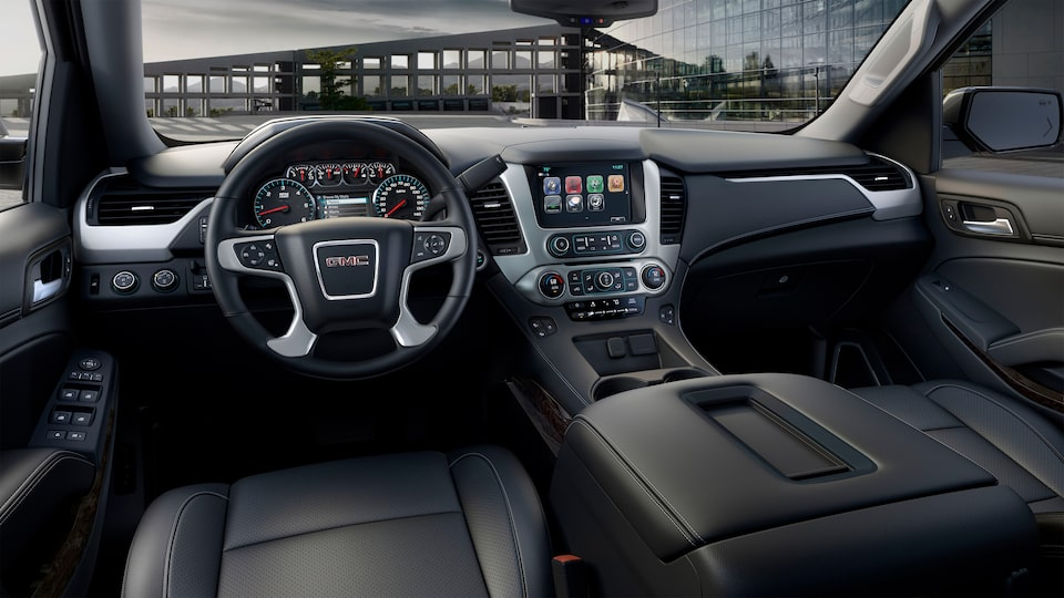 2020 GMC Yukon SLE/SLT full-size SUV Conveniently Connected Details.
