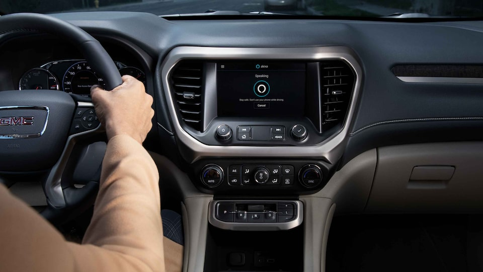 2021 GMC Alexa Built-In.