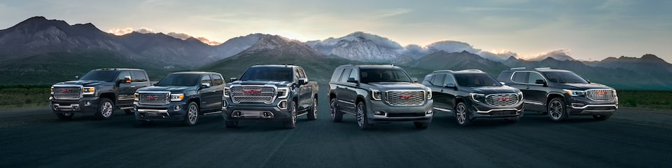 2019 GMC Denali luxury trucks, SUVs, and Crossovers.