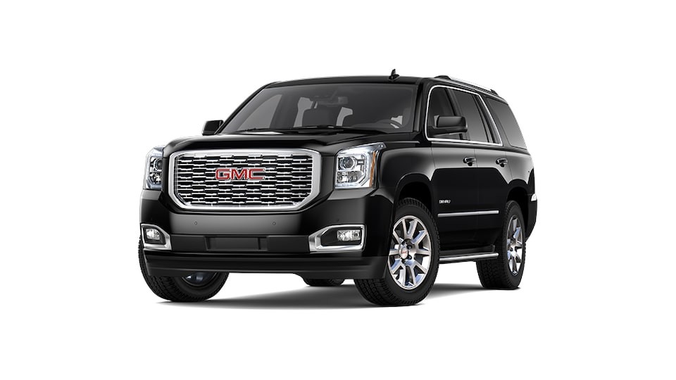 2019 GMC Yukon Denali full-size luxury SUV.