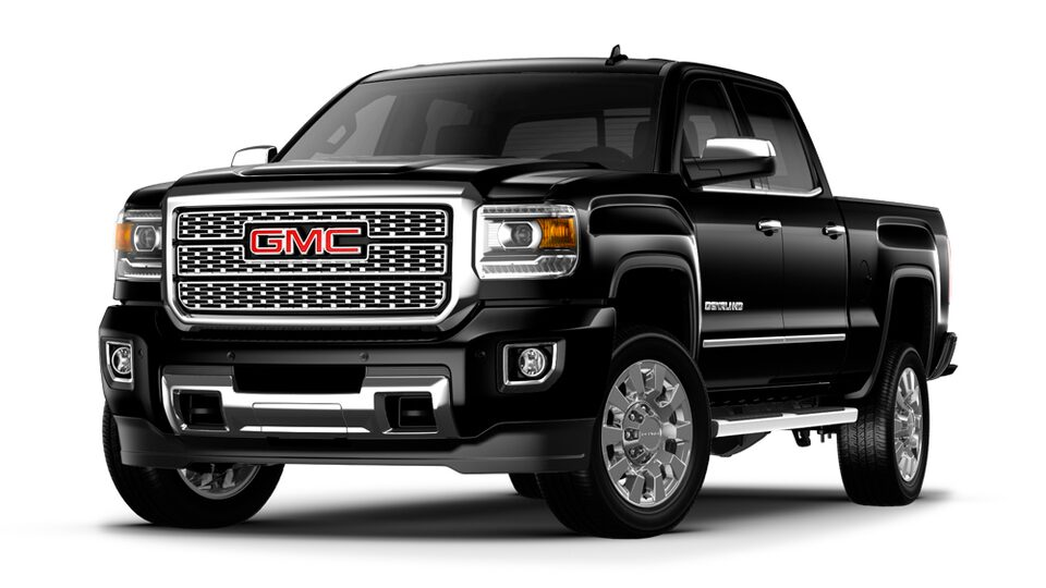 2019 GMC Sierra Denali HD heavy-duty pickup truck.