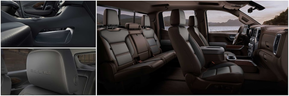2020 GMC Denali vehicle interior.
