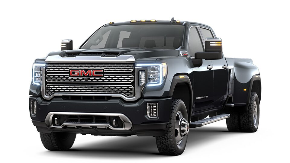 2020 GMC Sierra Denali HD heavy-duty pickup truck.