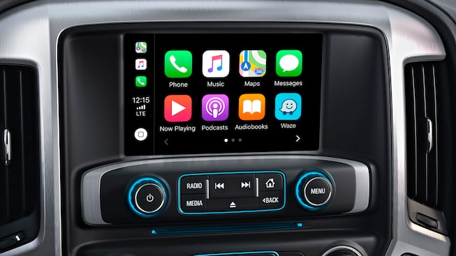 Apple CarPlay compatibility with myGMC mobile app, available with the 2019 Sierra Denali HD.