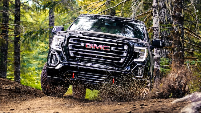 2019 GMC Sierra AT4.