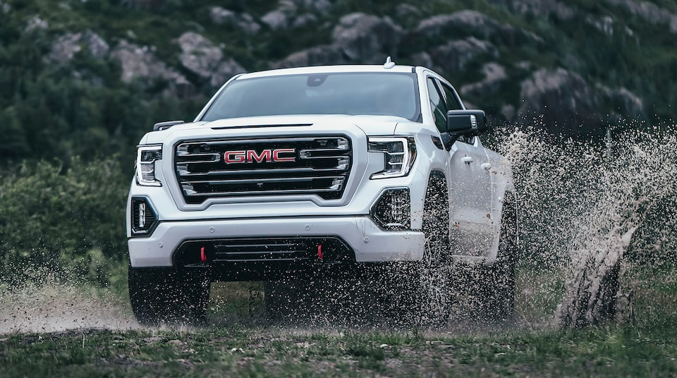 2021 GMC Sierra AT4.