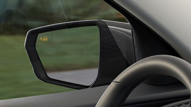 2019 GMC vehicle safety: with available Side Blind Zone Alert.
