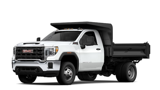2020 GMC Sierra Chassis Cab truck.