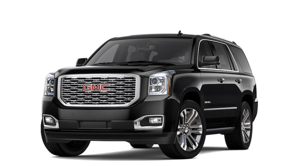 2020 GMC Yukon Denali in Onyx Black colour.