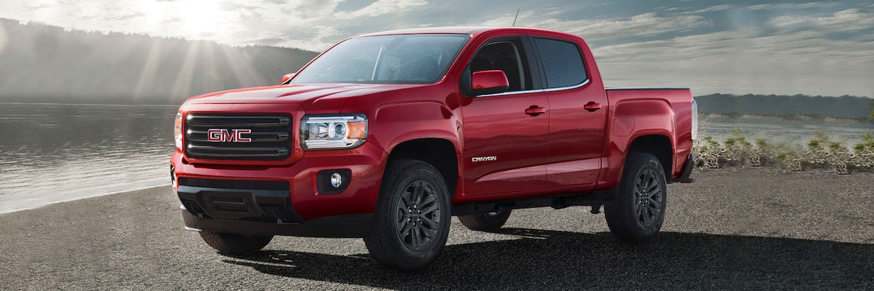 The 2019 GMC Canyon Elevation.