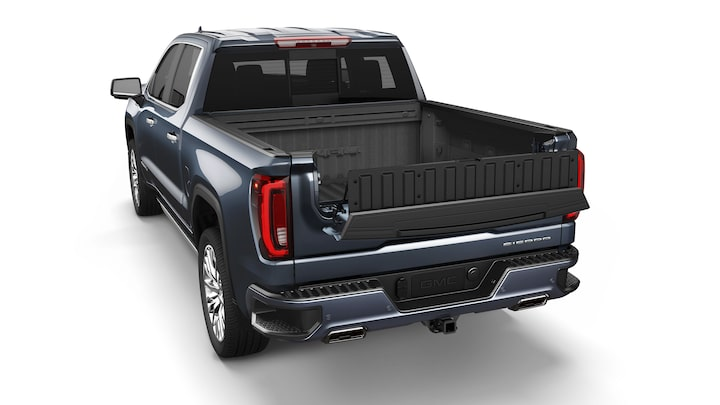 Sierra 1500 featuring the MultiPro Tailgate inner load stopper.