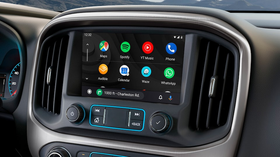 Android Auto du pick up intermédiaire GMC Canyon 2020.