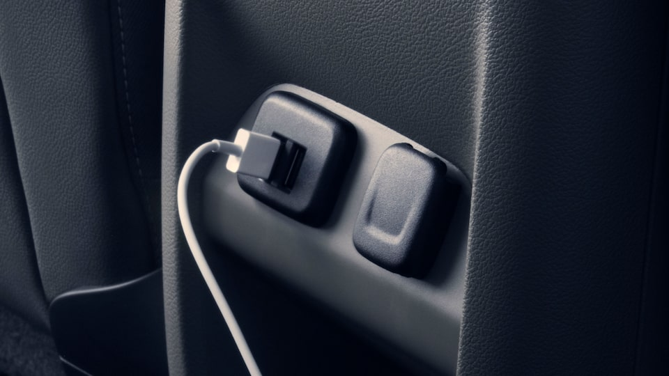 2020 GMC Canyon Mid-Size Pickup Power Outlets.