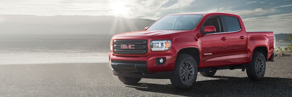 2020 GMC Canyon SLE And SLT.