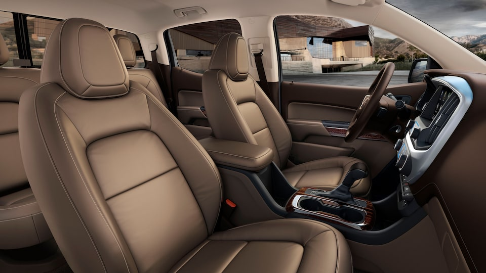 GMC Canyon Premium Spacious And Refined Interior.