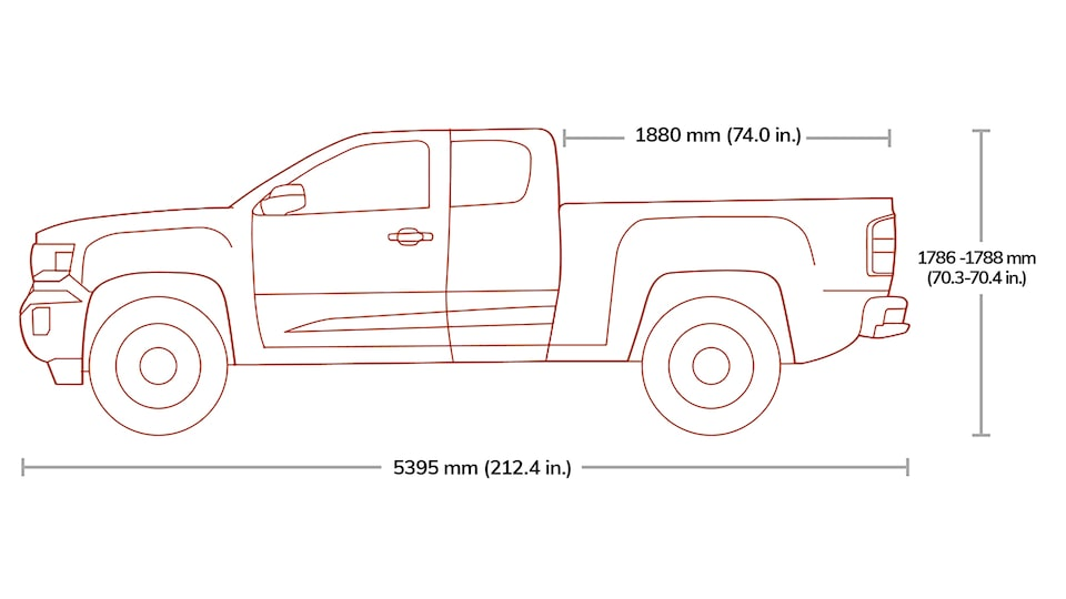 2020 Canyon Extended Cab Specs.
