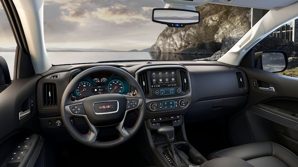 2020 Canyon All Terrain Mid-Size Pickup Truck Crafted High Caliber Interior.