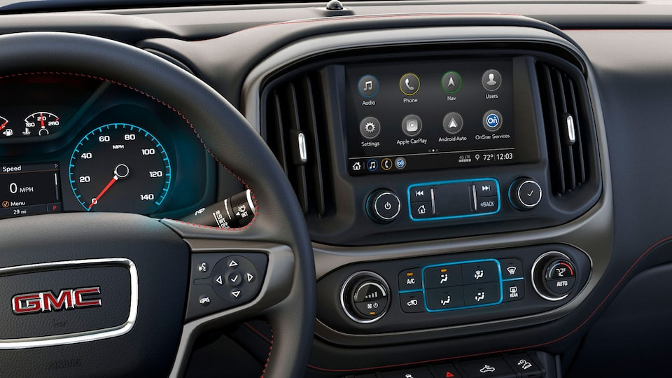 2020 Canyon All Terrain Featuring: Infotainment System.