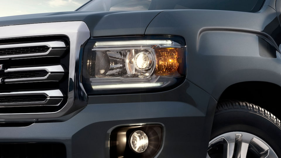Canyon Projector-Beam Headlamps.
