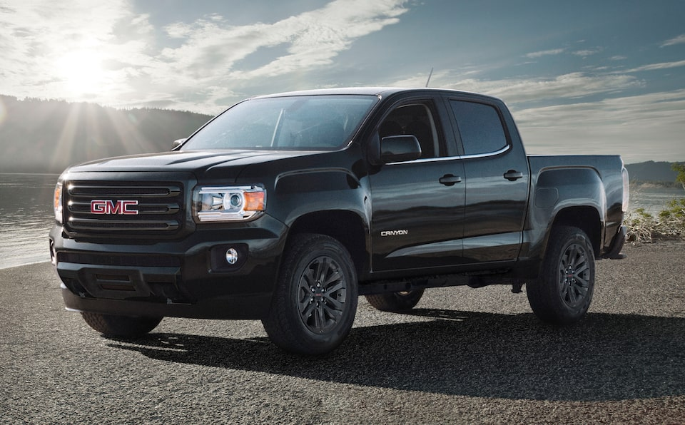2020 GMC Canyon Special Elevation Edition.