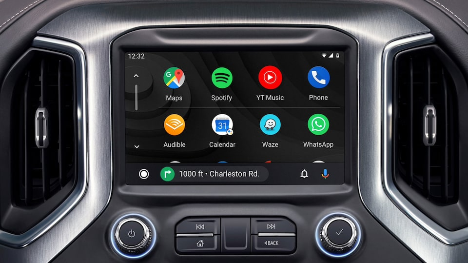 Apple CarPlay du camion pickup utilitaire Sierra 1500 Denali.
