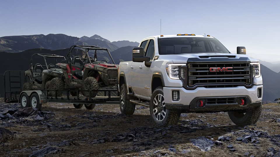 Strong Foundations Of The First Ever Sierra AT4 Heavy Duty.