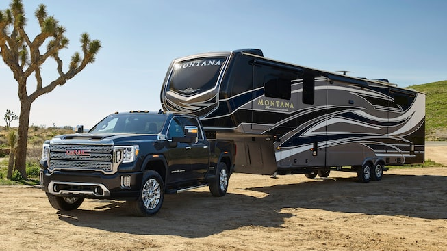 The Next Generation Sierra Denali HD Heavy Duty Truck.