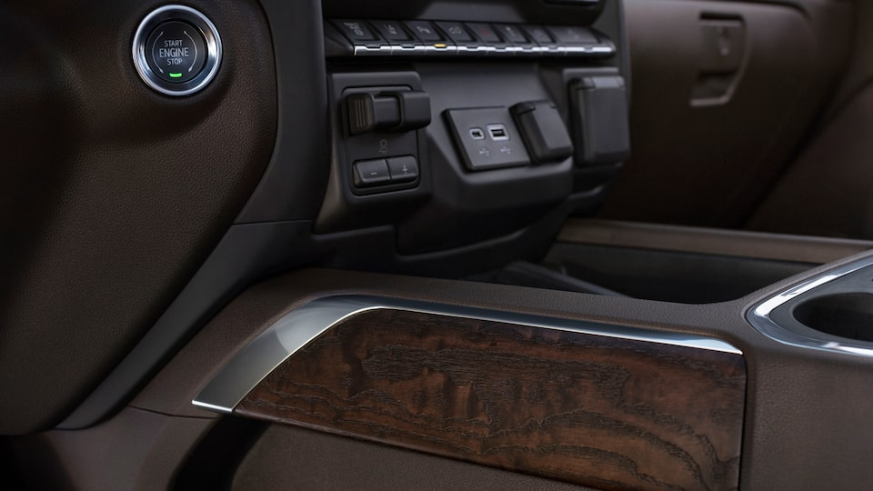 Exclusive Interior Design Of The GMC Sierra Denali.