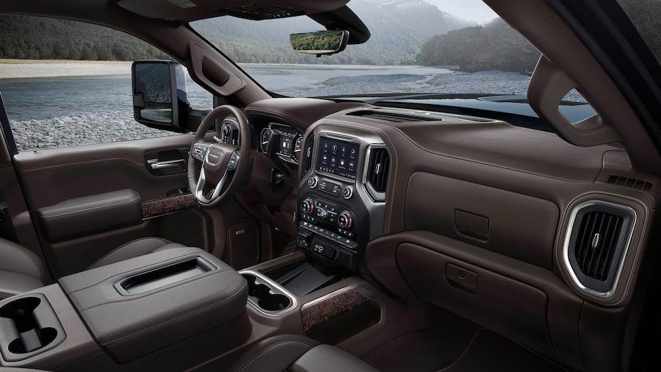Premium Exterior of the GMC Sierra Denali HD.