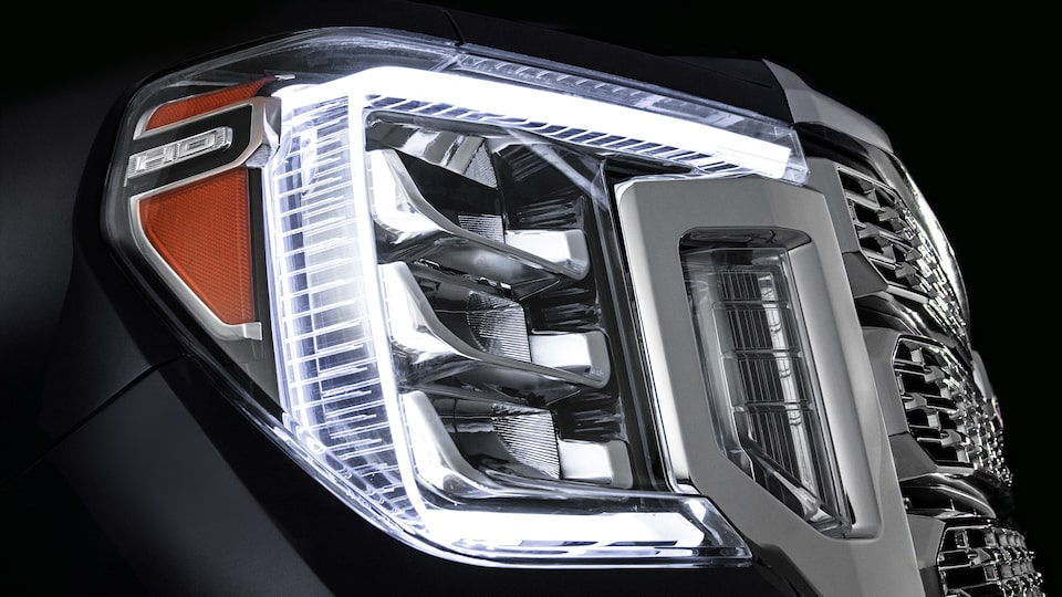 Advanced LED Lighting Of The Sierra HD.