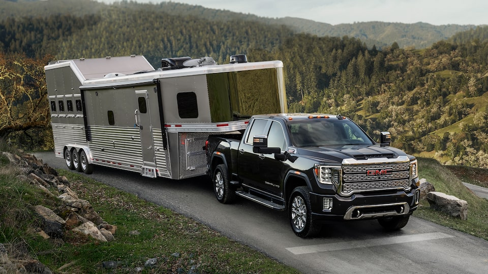 ProGrade Trailering System Of The 2020 Sierra Denali HD.