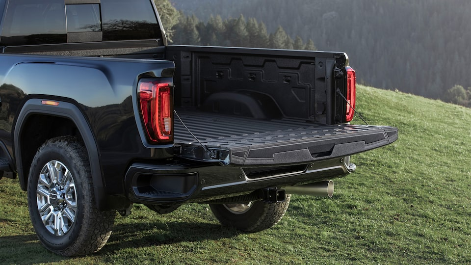 2020 Sierra HD Primary Bed Gate.