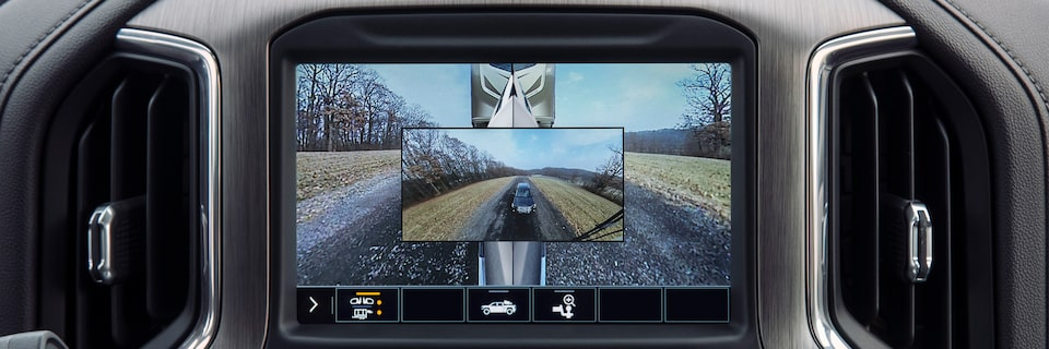 Picture In Picture View Of The 2020 Sierra Denali.