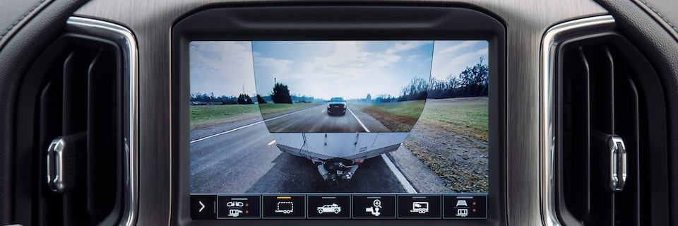2020 Sierra HD AT4 Transparent Trailer View.