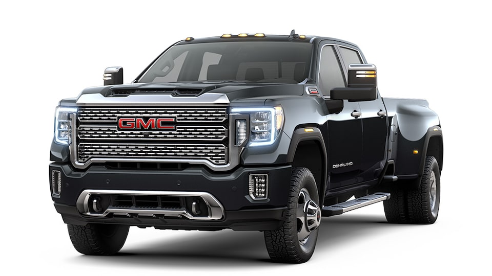 Carbon Black Metallic 2020 GMC Sierra HD Denali.