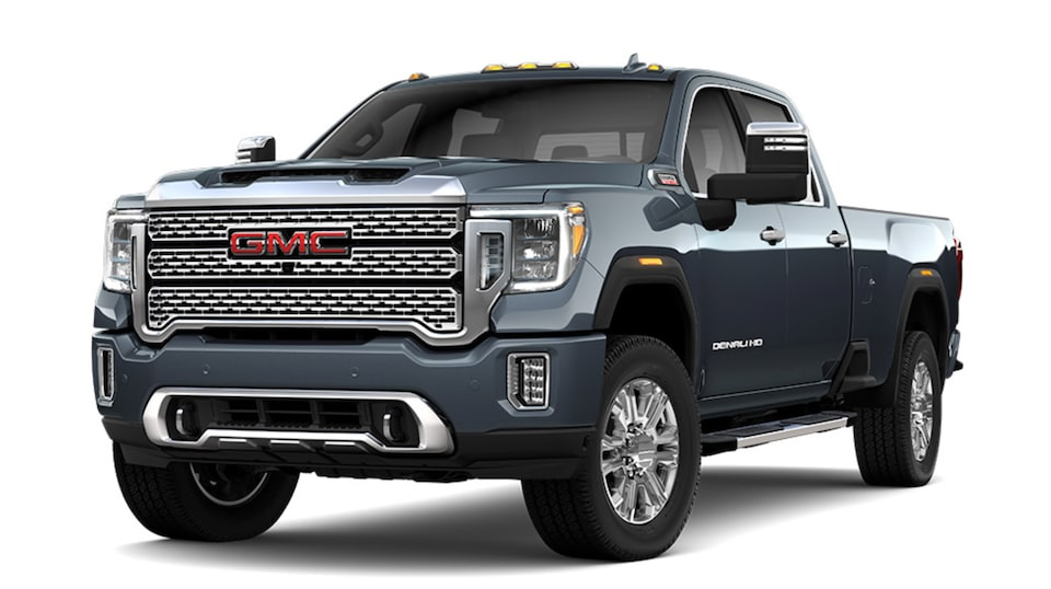 Dark Sky Metallic 2020 GMC Sierra HD Denali.