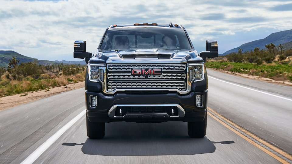 2020 Sierra HD Denali Exclusive Exterior.