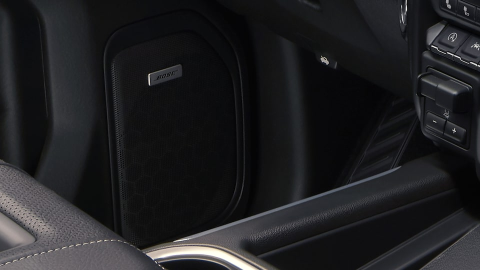 Bose Premium Sound System Of The Sierra HD Denali.