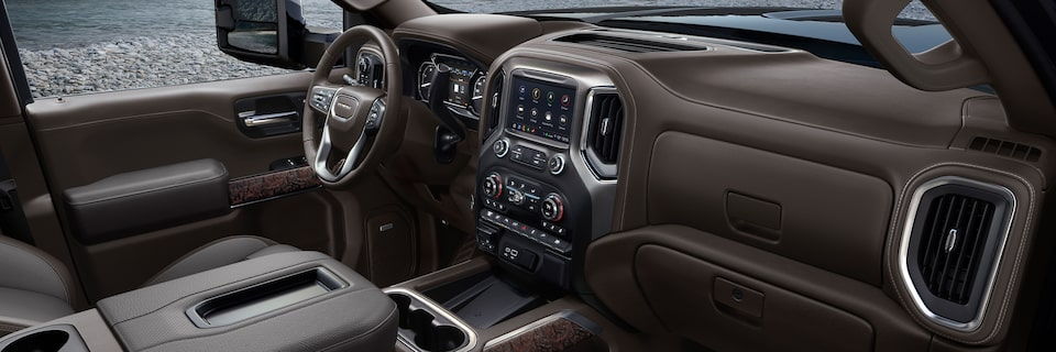 2020 Sierra HD Interior.