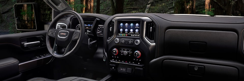 2020 Sierra HD AT4 Interior.