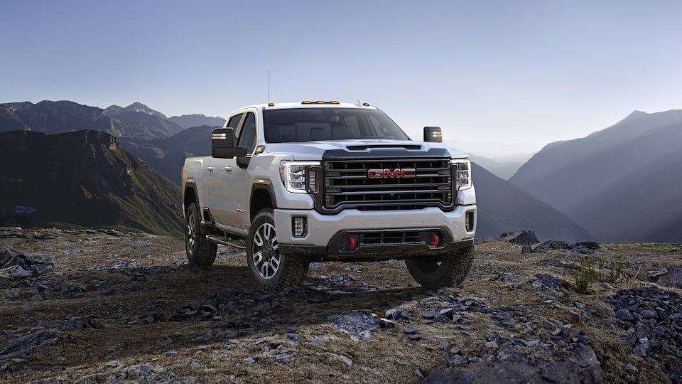 2020 Sierra HD AT4 Bold Exterior.