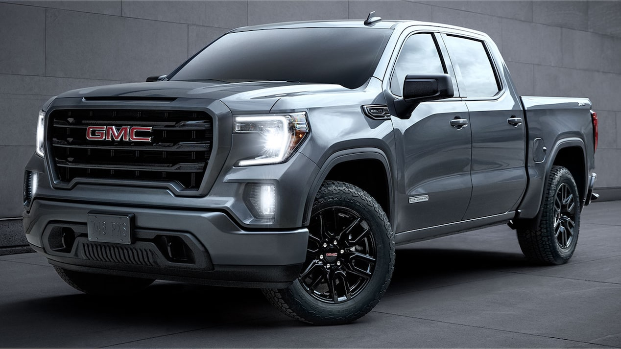 The 2019 Sierra 1500 Elevation Edition.