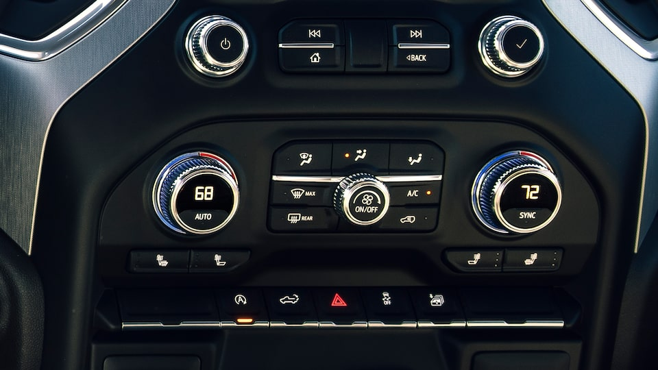 GMC Sierra Elevation Climate Control.