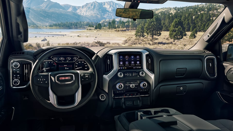 The Next Generation Sierra Elevation Interior.