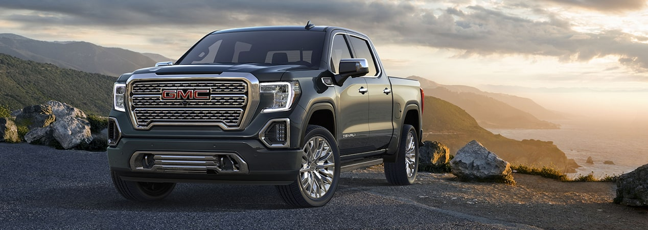 2019 GMC light-duty pickup trucks.