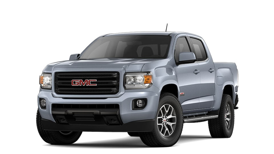 2020 GMC Canyon All Terrain small pickup truck.