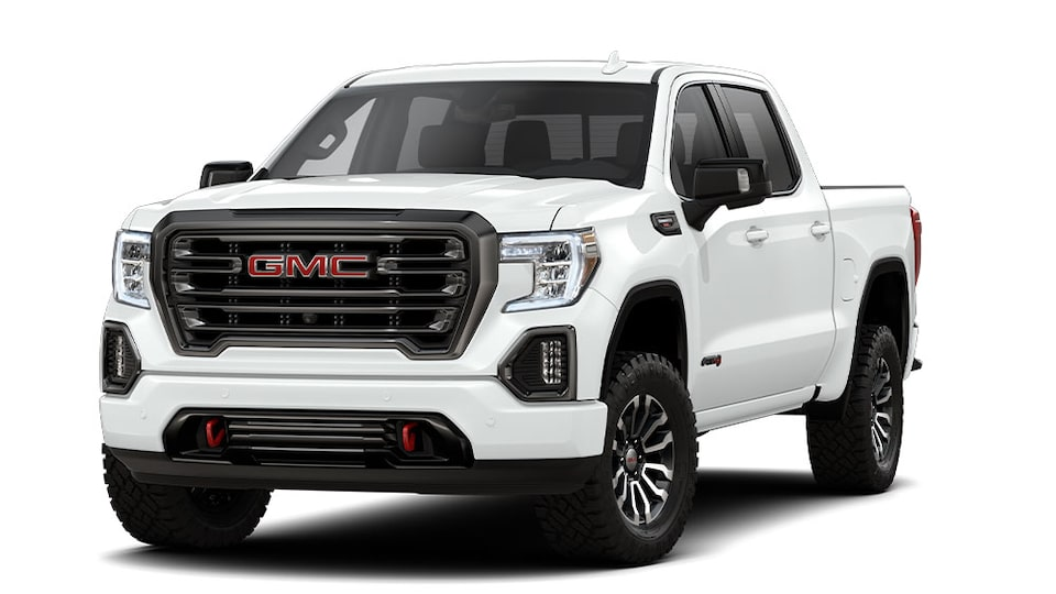 2020 GMC Sierra 1500 AT4 light-duty pickup truck.