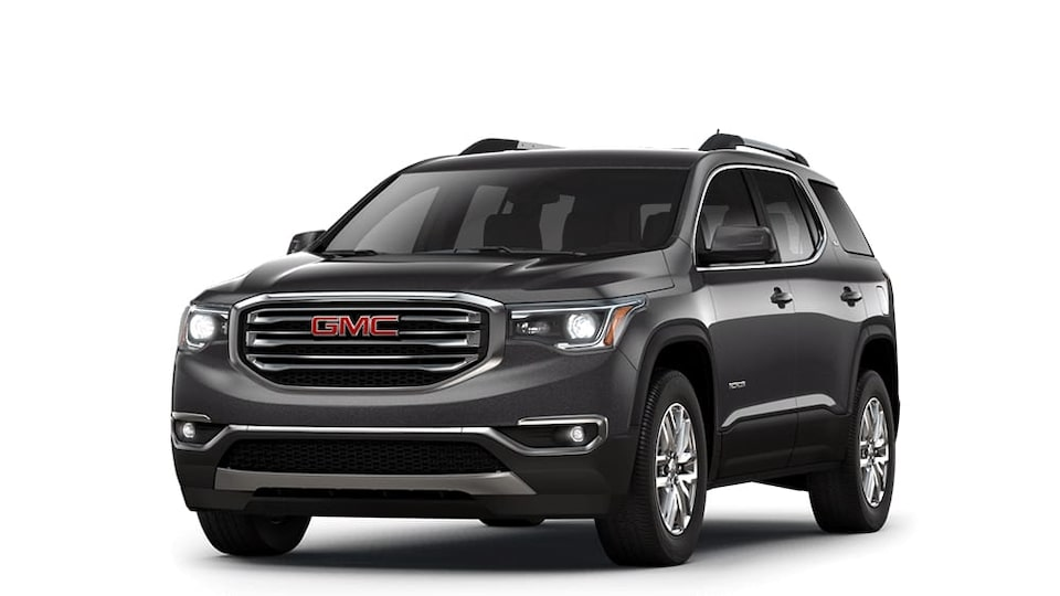 2018 Acadia iridium metallic.